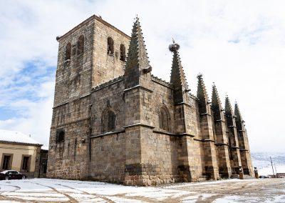 iglesia nieve