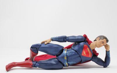 Superman esquiva la kryptonita