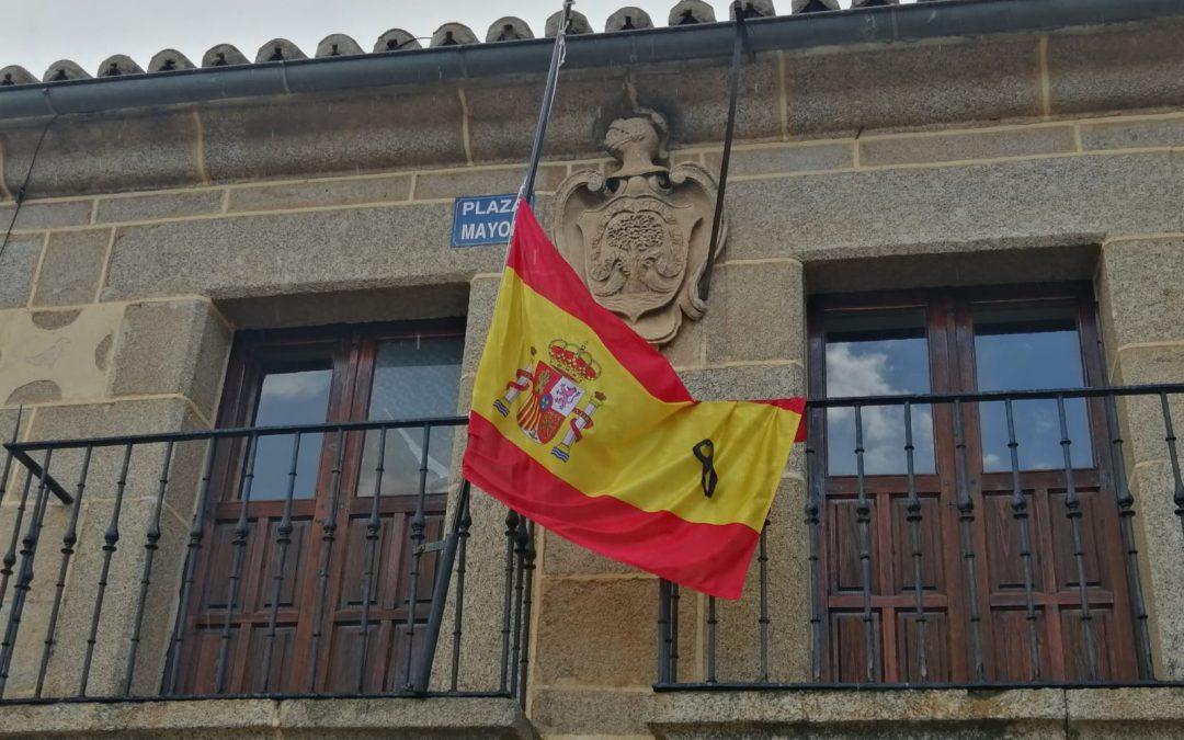 España se viste de luto-Bonilla de la Sierra- Ävila-España